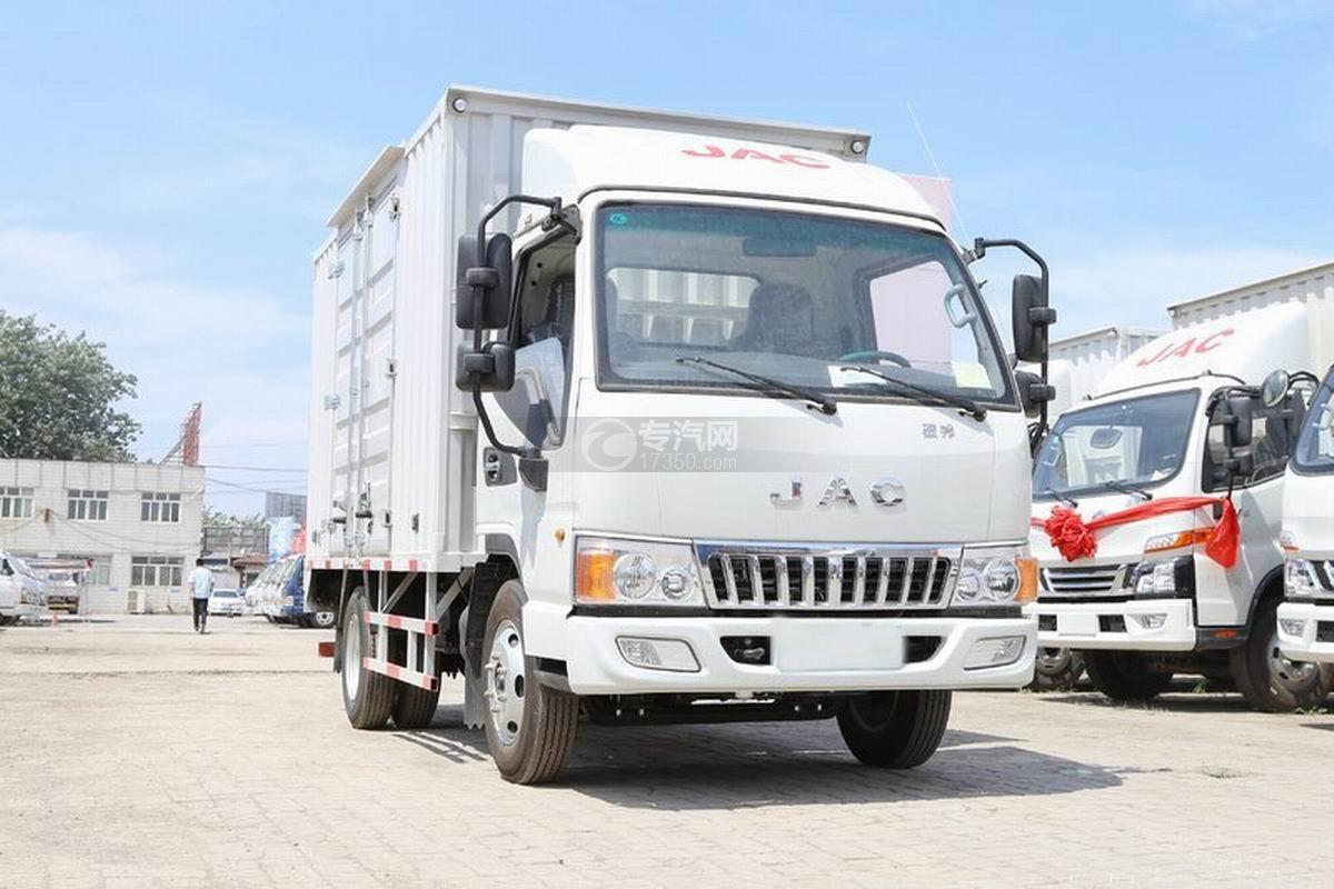 江淮骏铃E3单排3.7米厢式货车图片