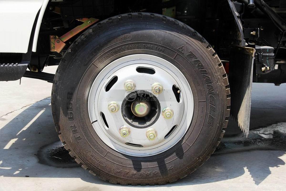 江淮骏铃H330单排4.15米厢式货车轮胎