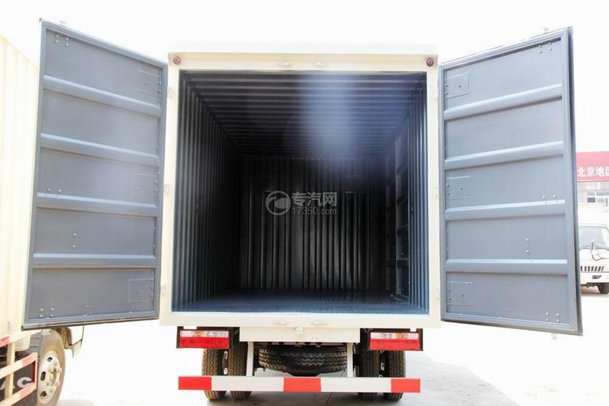 江淮骏铃H330单排4.15米厢式货车货箱