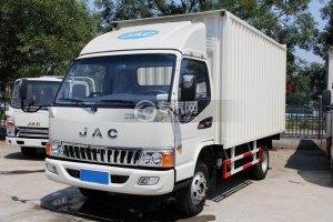 江淮骏铃H330单排4.15米厢式货车