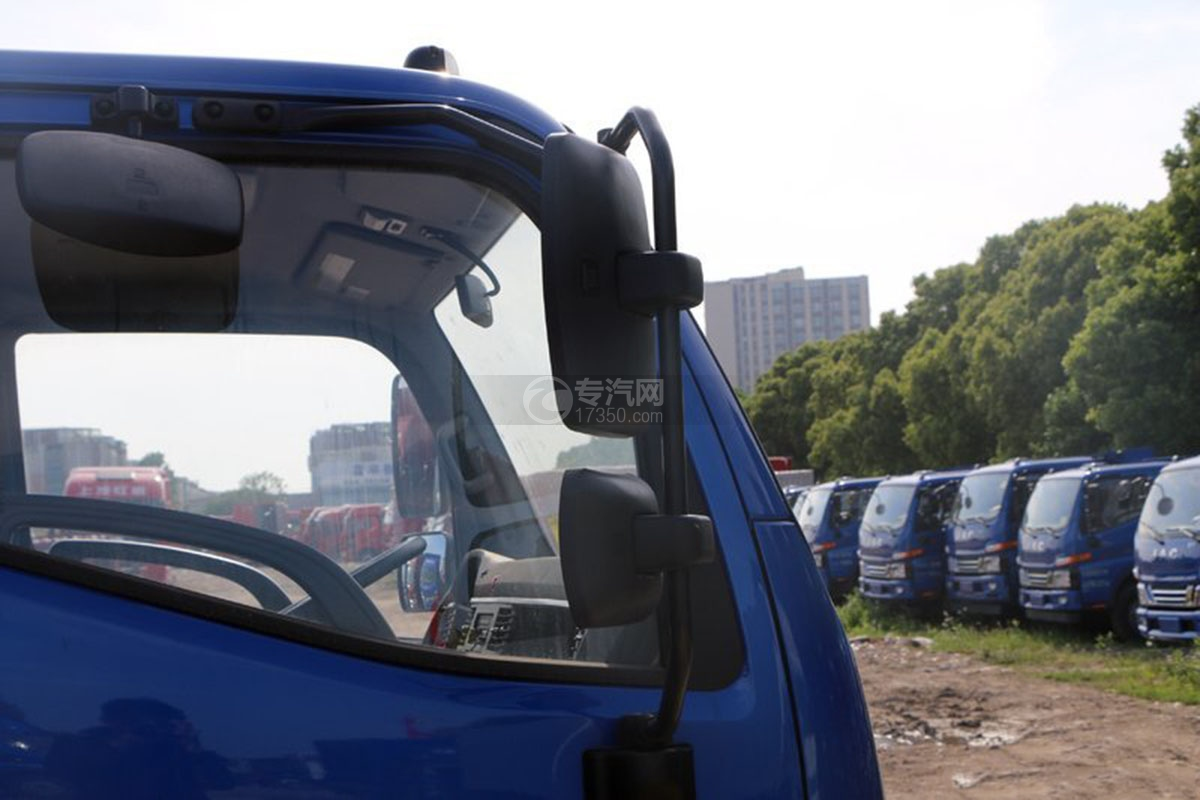 江淮骏铃3.5米自卸车外观后视镜