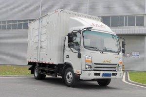 江淮帅铃H330单排4.12米厢式货车图片