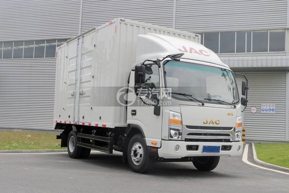 江淮帅铃H330单排4.12米厢式货车