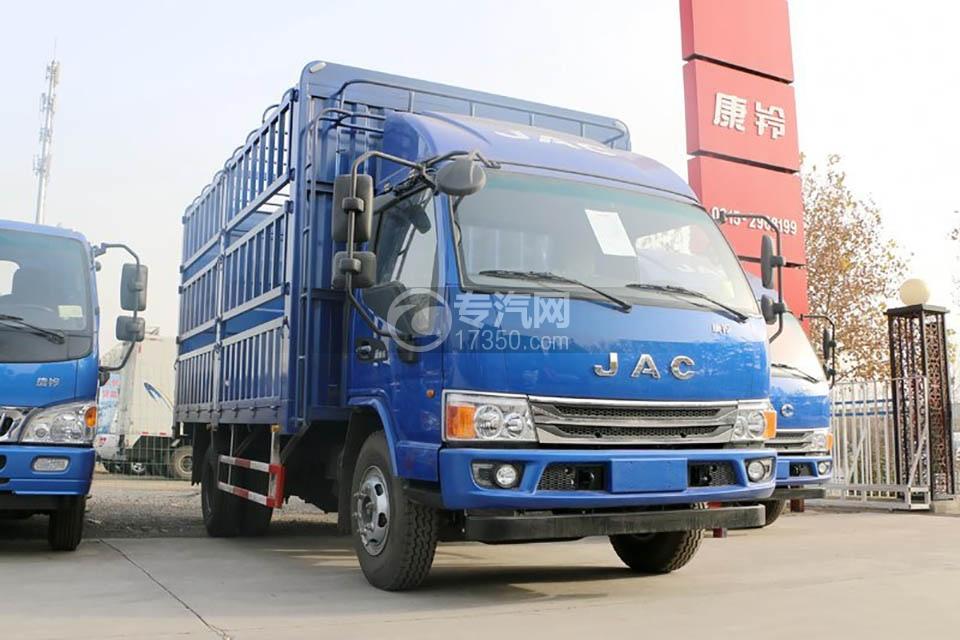 江淮康铃H5单排4.18米仓栅车