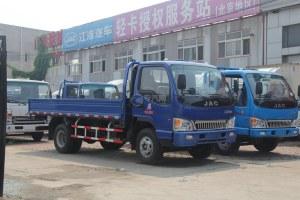江淮骏铃2旗舰版单排4.18米载货车
