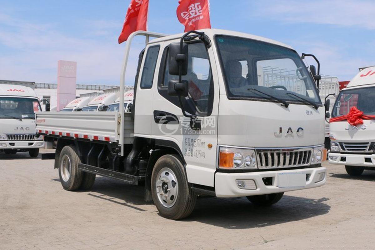 江淮骏铃E3排半3.37米载货车