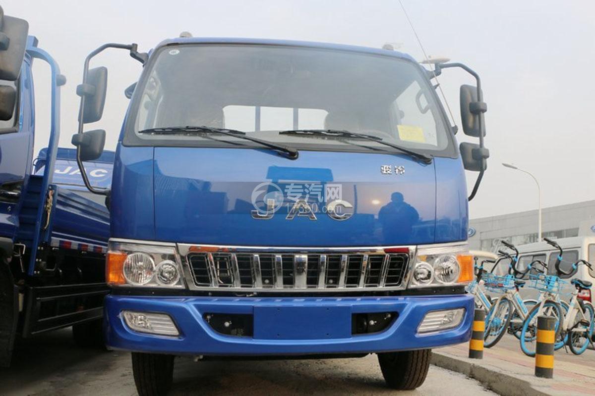 江淮骏铃E5单排4.18米载货车正面图