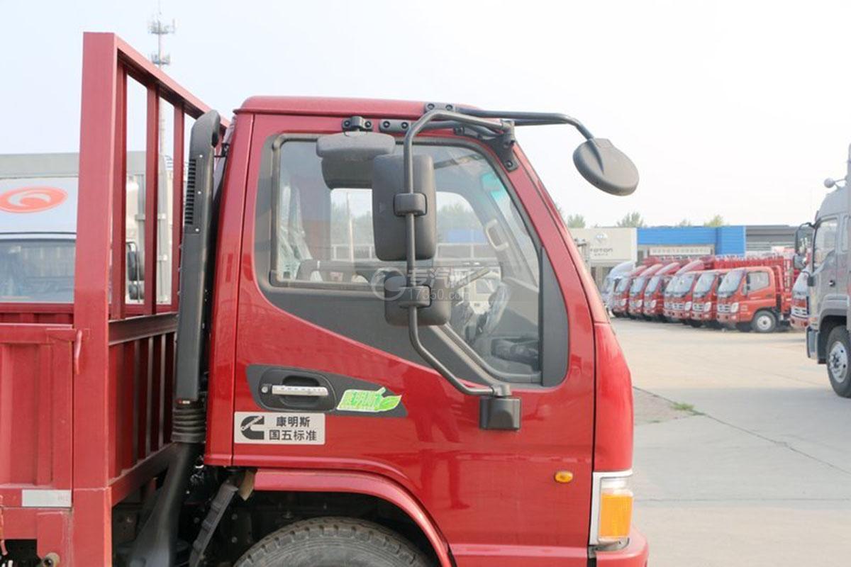 江淮骏铃E6单排4.18米载货车外观图