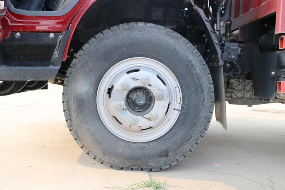 江淮骏铃E6单排4.18米载货车轮胎