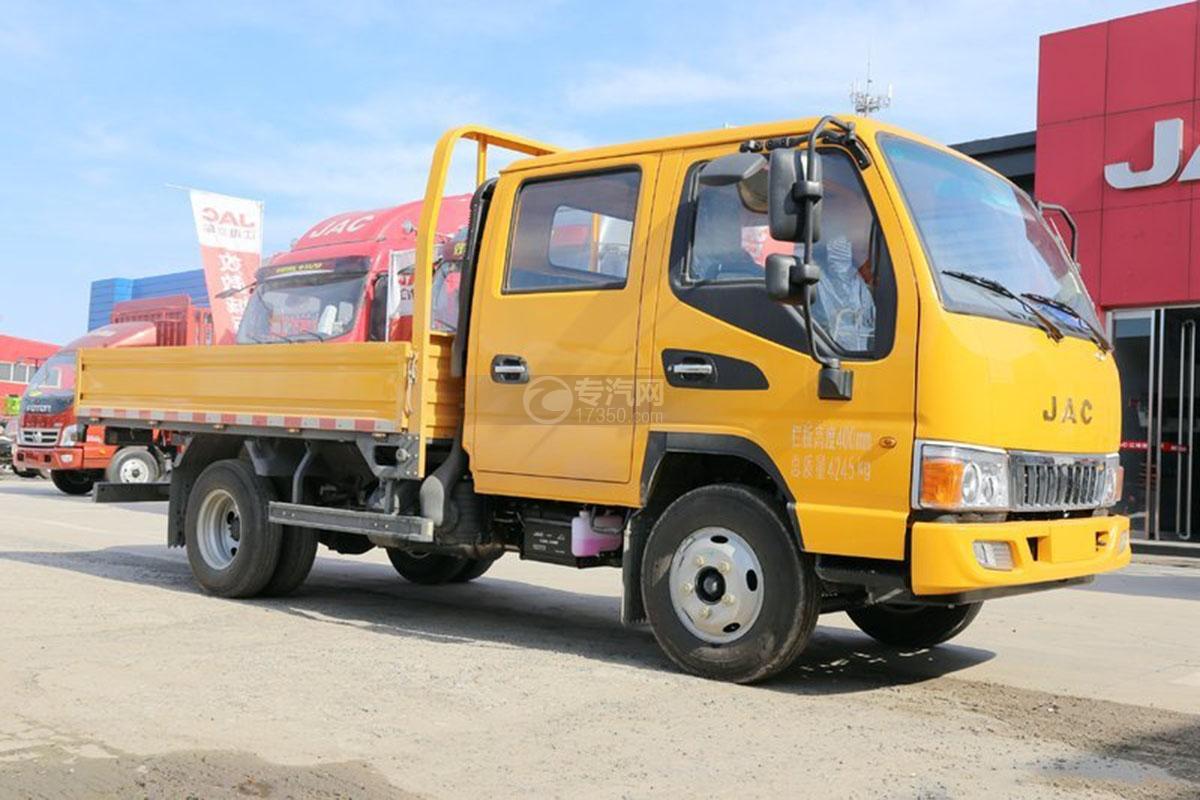 江淮駿鈴E3 3.2米雙排載貨車右側圖