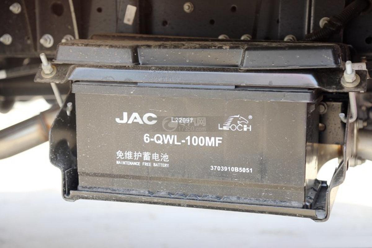 江淮駿鈴E3 3.2米雙排載貨車蓄電池