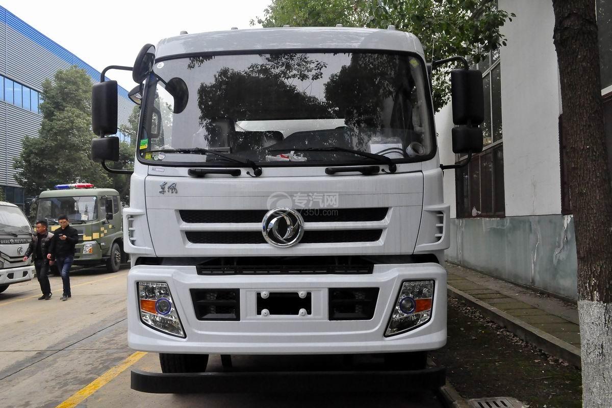 东风D913餐厨式垃圾车正面图