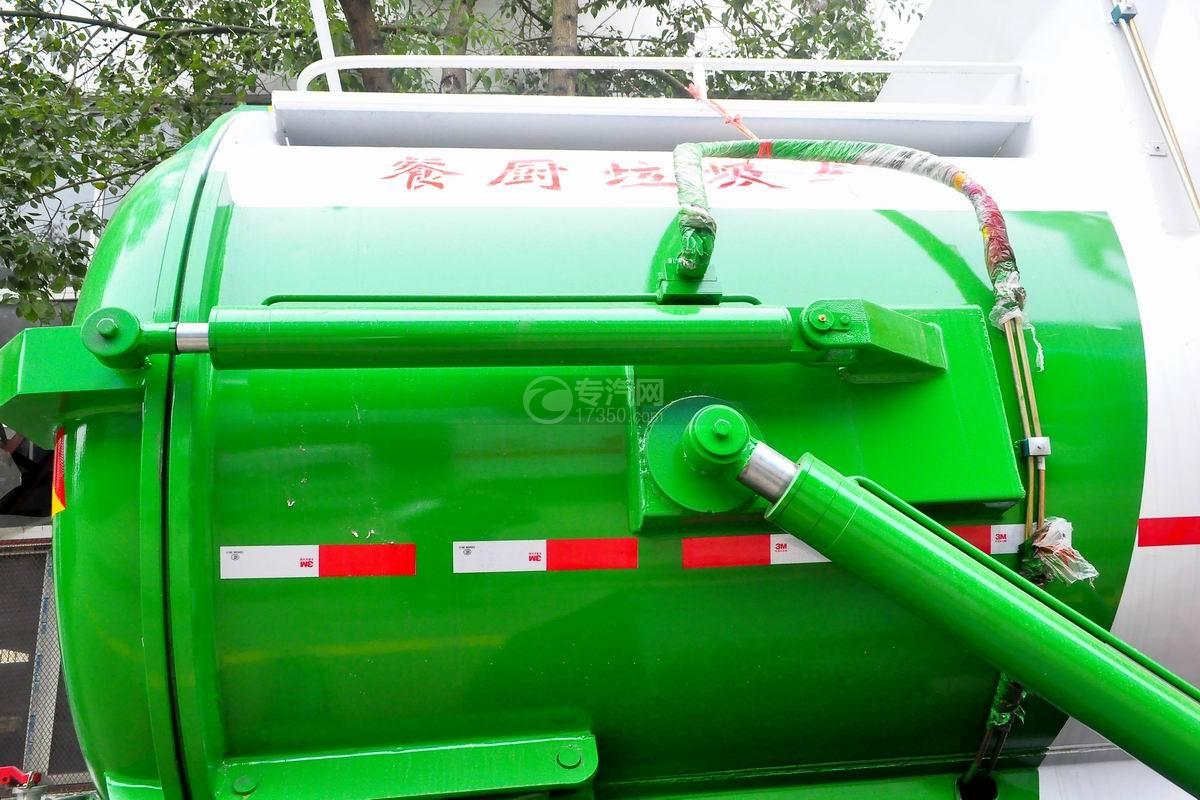 东风D913餐厨式垃圾车上装液压油缸
