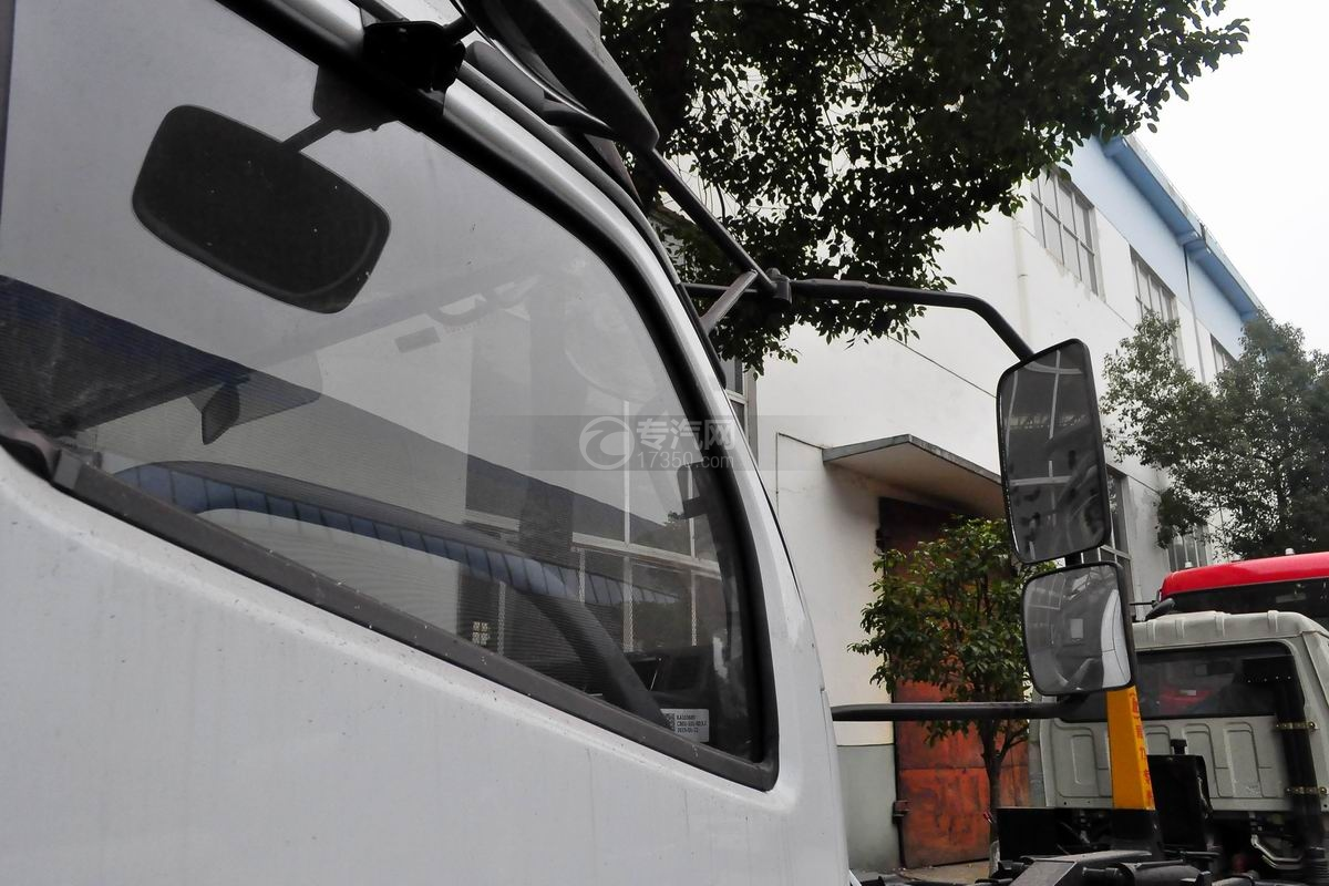 东风多利卡D7餐厨式垃圾车外观后视镜