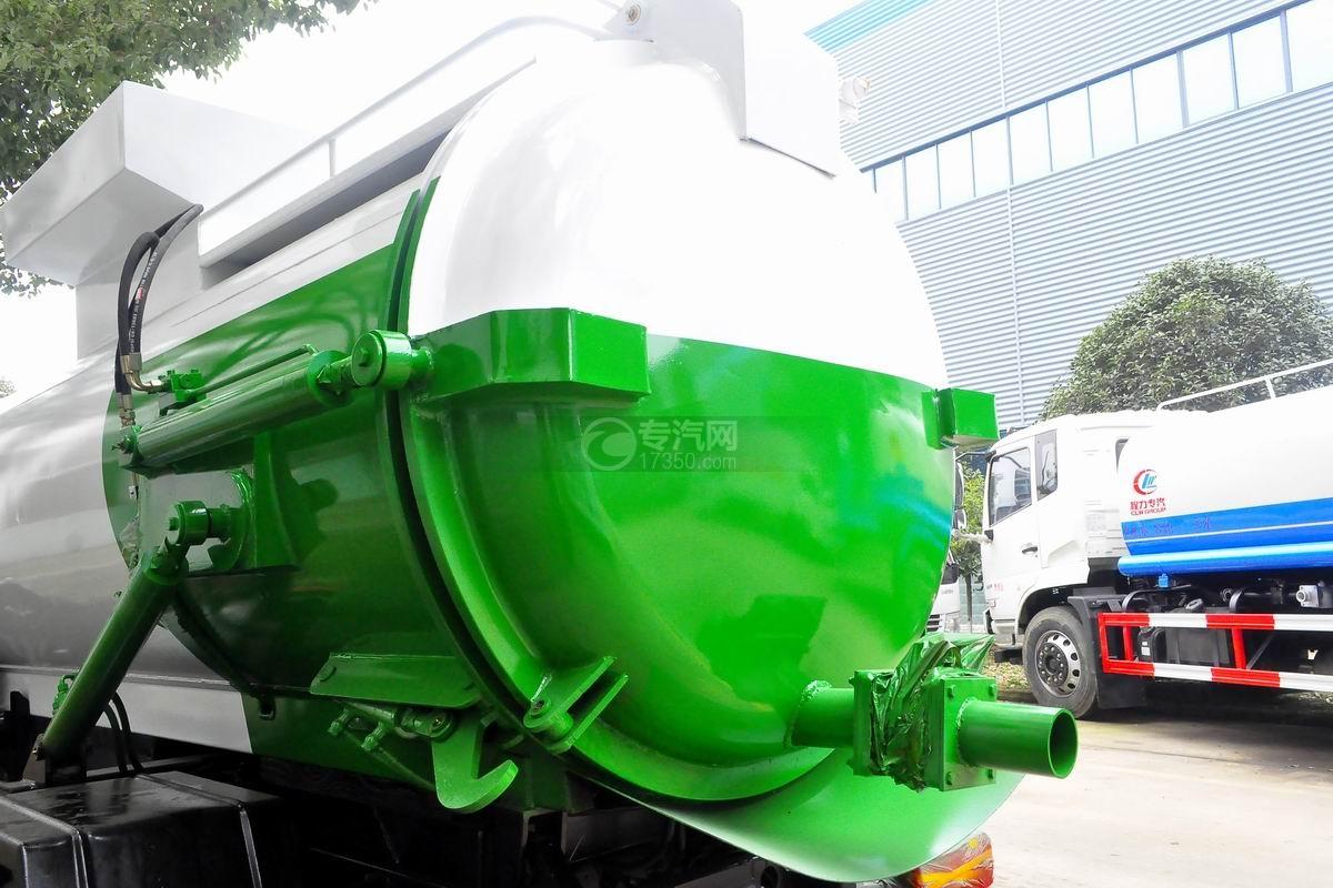东风多利卡D7餐厨式垃圾车上装罐体