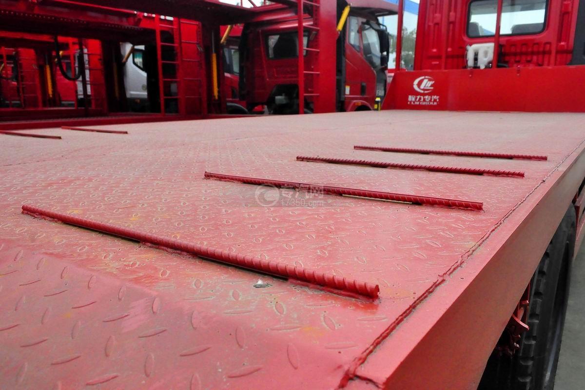东风T5单桥平板运输车上装平板