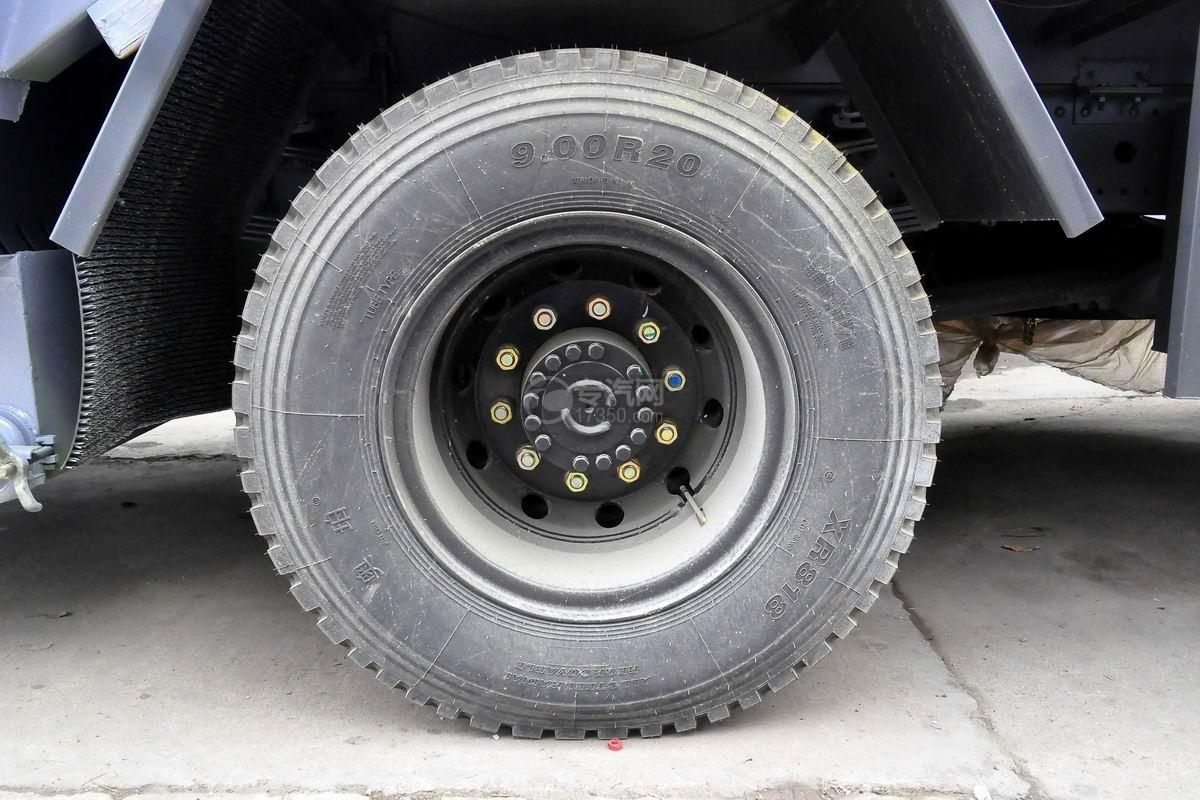 东风天锦压缩式垃圾车轮胎