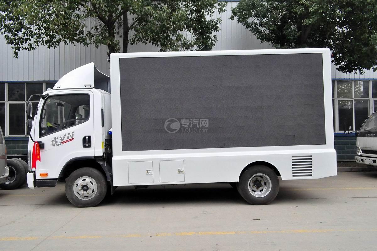 解放虎VN LED广告宣传车侧面图