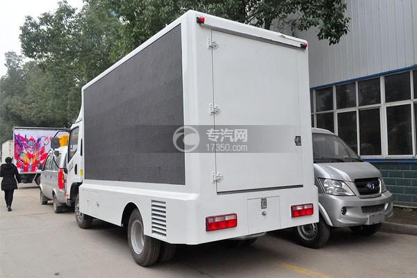 解放虎VN LED广告宣传车侧后方图