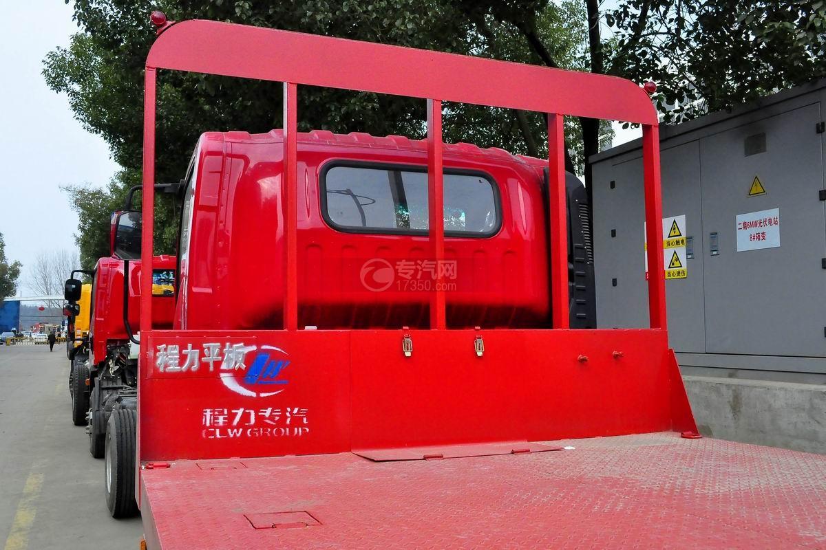 南骏平板运输车上装细节