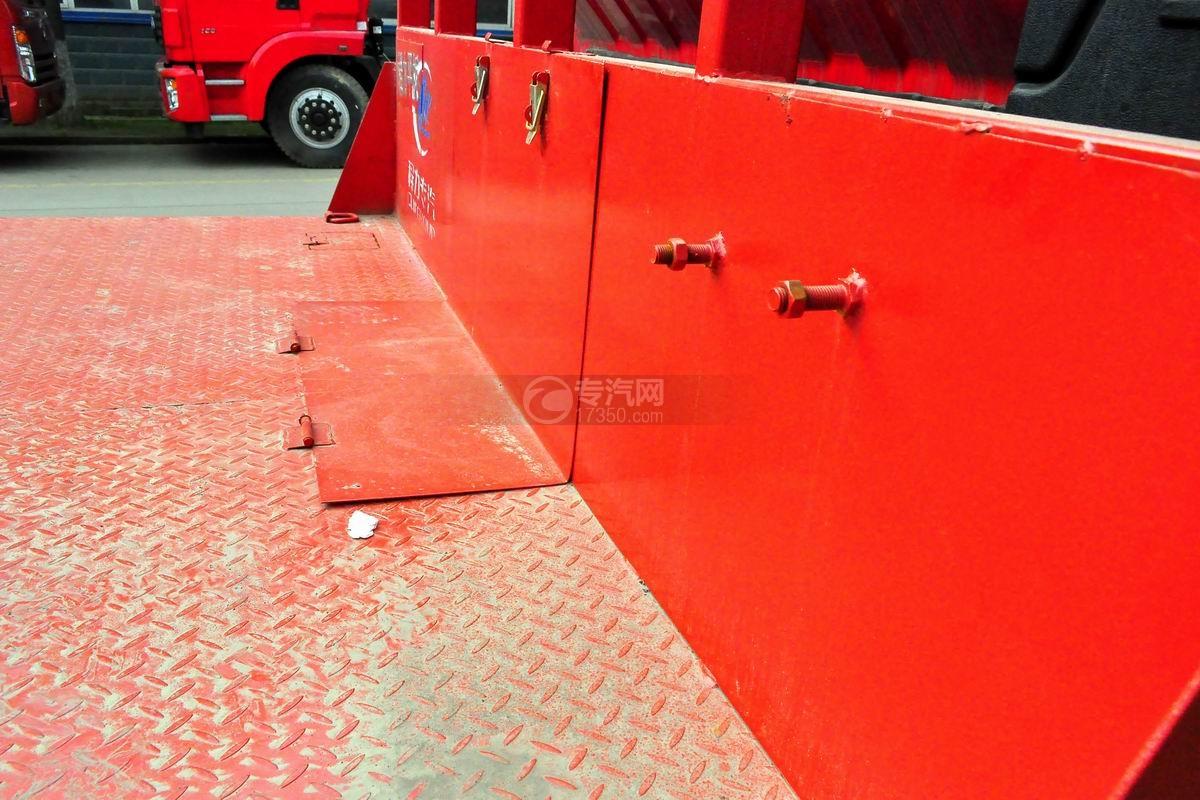 南骏平板运输车上装平板