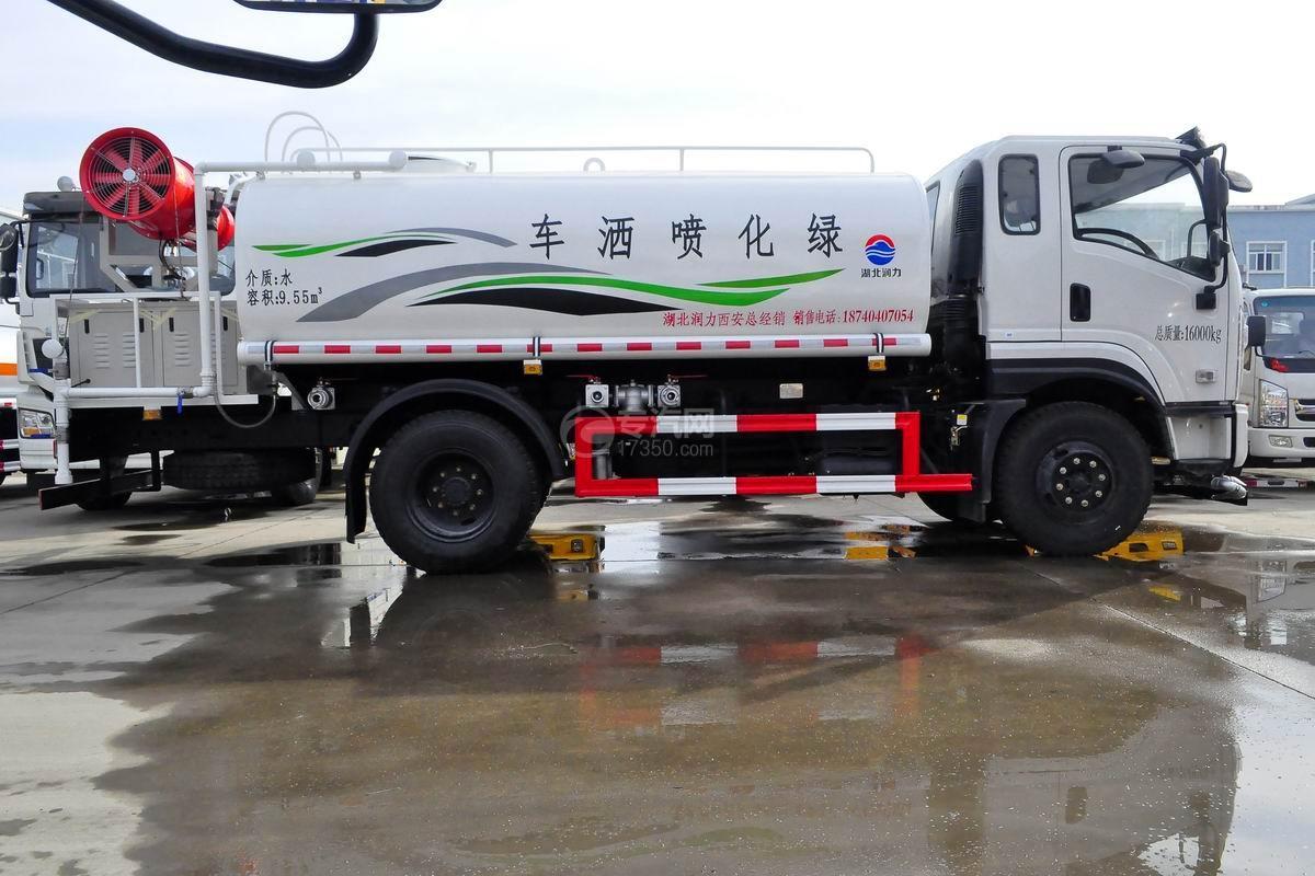 东风专底畅行D1L国五9.55立方米绿化喷洒车右侧图