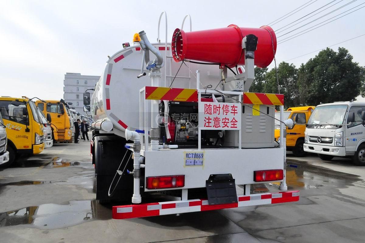 东风专底畅行D1L国五9.55立方米绿化喷洒车左后图