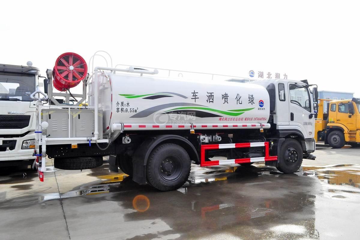 东风专底畅行D1L国五9.55立方米绿化喷洒车右后图