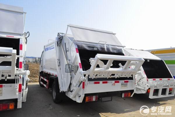 慶鈴五十鈴壓縮式垃圾車