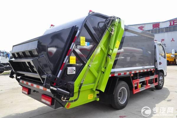 東風多利卡D6壓縮式垃圾車