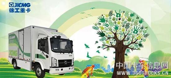 重卡行业突破式发展,徐工探索卡车电动化道路