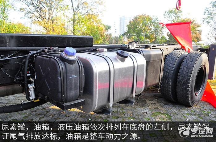东风T5宏昌天马8吨直臂随车吊评测之外观油箱