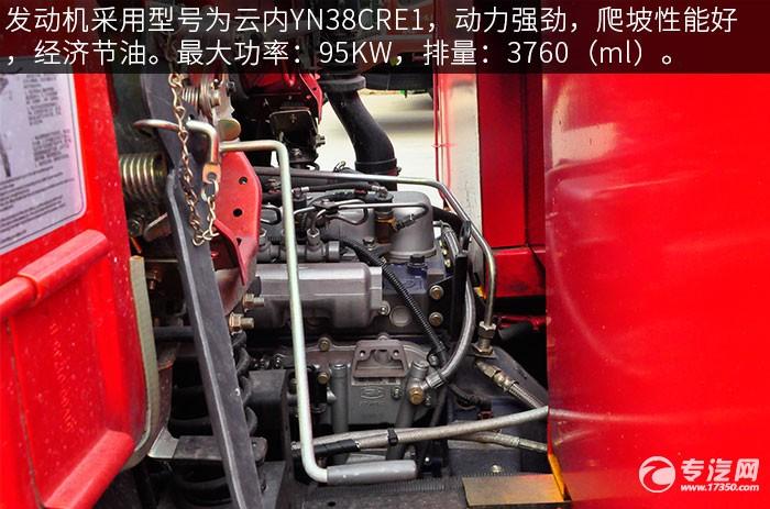 大运征途平板运输车发动机