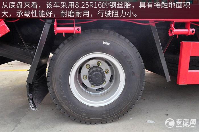 大运征途平板运输车轮胎