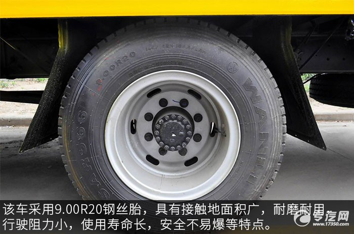 江淮格尔发K5L平板运输车轮胎