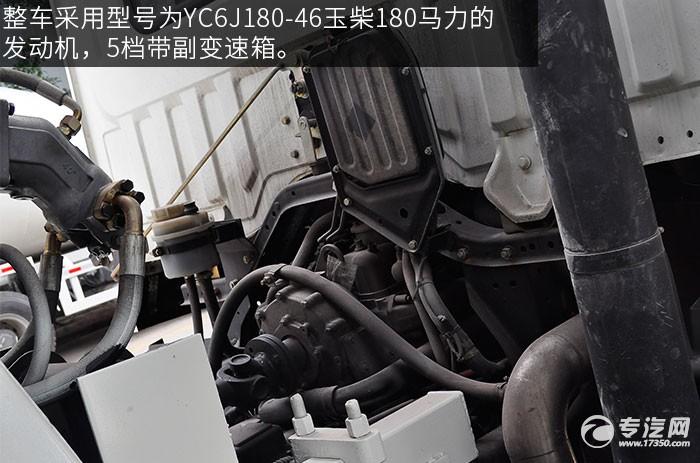 东风神宇御虎3.47方搅拌车发动机