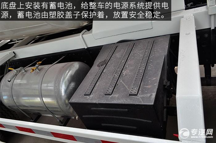 东风神宇御虎3.47方搅拌车蓄电池
