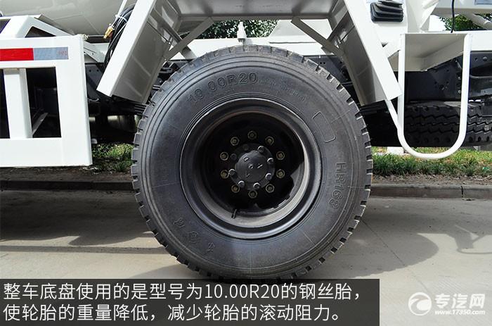 东风神宇御虎3.47方搅拌车轮胎