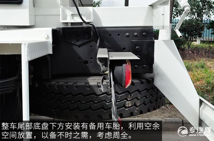 东风神宇御虎3.47方搅拌车干燥器