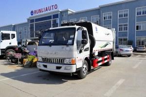 江淮骏铃E6自装卸式垃圾车图片