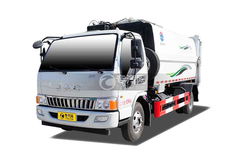 江淮骏铃E6自装卸式垃圾车