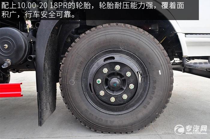 东风随专单桥洒水车轮胎