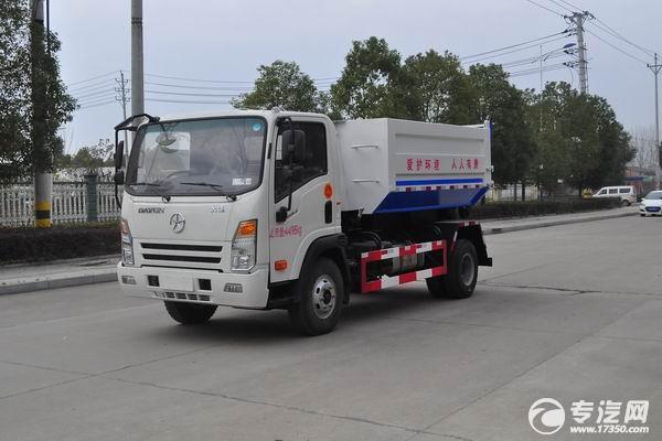环卫垃圾车带您了解劣质液压油对液压系统的影响