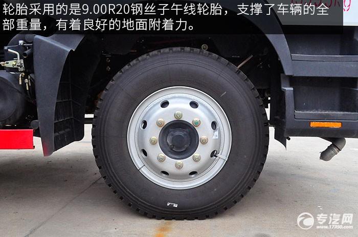 東風多利卡D9綠化噴灑車的輪胎