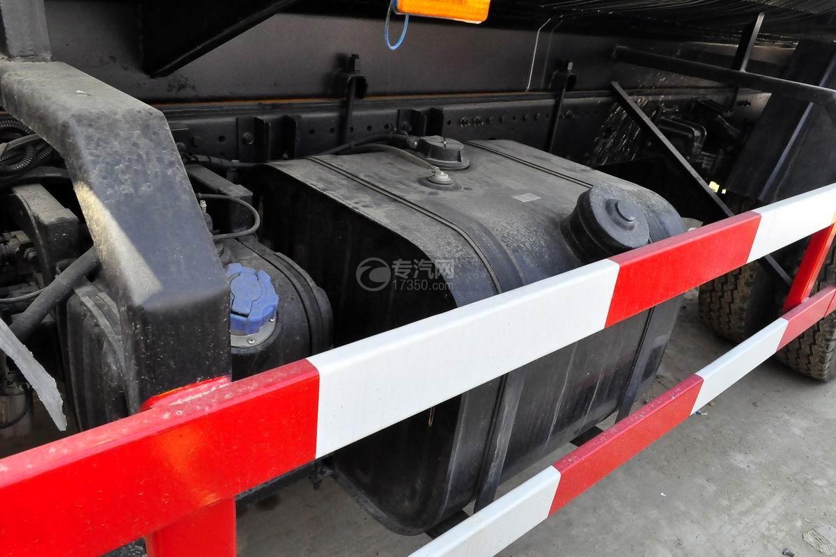 东风专用底盘洒水车油箱