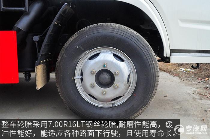 东风福瑞卡压缩式垃圾车轮胎
