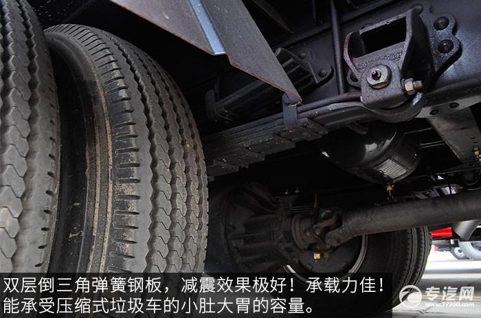 东风福瑞卡压缩式垃圾车钢板弹簧