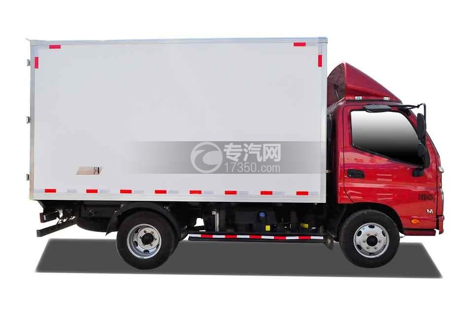 福田时代M3厢式货车右侧图