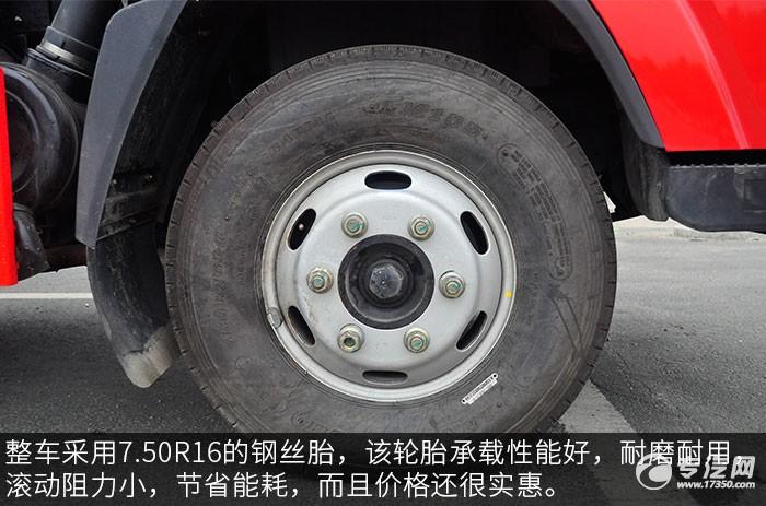 大運奧普力壓縮式垃圾車輪胎