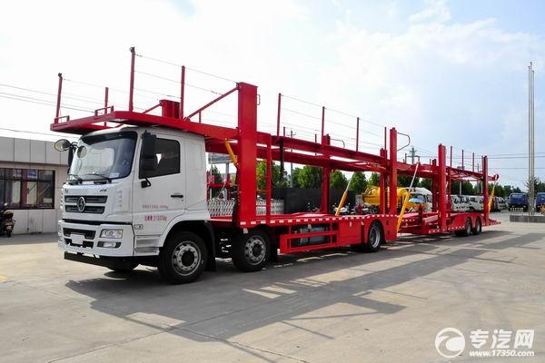 陕汽轩德X6中置轴轿运车